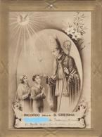 9139-RICORDO DELLA S.CRESIMA-CHIESA DI PONTECURONE(AL)-1939 - Cromo