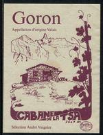 Rare // Etiquette De Vin // Montagne // Goron, Caane De La Tsa - Bergen