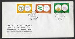 ETHIOPIA F.D.C. FIRST DAY COVER 1970 ASSAB ORGANIZATION OF AFRICAN UNITY - Etiopia