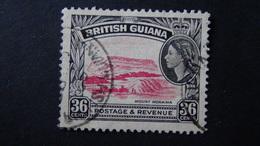 British Guiana - Mount Roraima - 1954 - Mi:GY 208, Sn:GB-GY 262, Yt:GY 194 O - Look Scan - Geographie