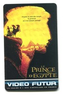 Carte VIDEO FUTUR - N°69 - Film De Cinéma - Le Prince D'Egypte - Frankrijk