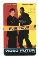 Carte VIDEO FUTUR - N°72 - Film De Cinéma - Rush Hour - Jackie Chan - Frankrijk