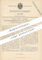 Original Patent - Oskar Leuner , Dresden , 1886 , Durchbiegungszeichner Von Fränkel | Papier , Walze , Papierfabrik !! - Historische Dokumente