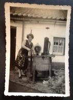 Photo. 16. Ancienne Machine à Laver Le Linge. Animee - Objects