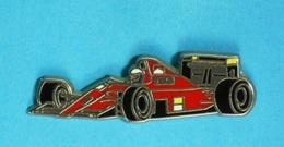 PIN'S //   ** F1 SAISON 1990 / FERRARI F1-90 / ALAIN PROST ** . (Locomobile) - Ferrari