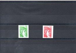 FRANCE N° 2101/2 ND - Unused Stamps