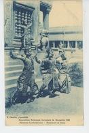 ASIE - CAMBODGE - EXPOSITION NATIONALE ET COLONIALE DE MARSEILLE 1922 - Danseuses Cambodgiennes - Cambodia