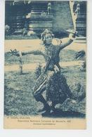 ASIE - CAMBODGE - EXPOSITION NATIONALE ET COLONIALE DE MARSEILLE 1922 - Danseuse Cambodgienne - Cambodia