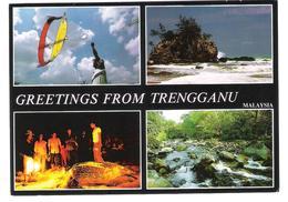 Malaysia - Trengganu - Views - Nice Stamp - Timbre - Malaysia