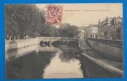 51 - SAINTE-MENEHOULD - L'ABREUVOIR DU PONT DE PIERRE 1904 - Sainte-Menehould