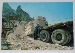 MASSA CARRARA - Carrara - Cave Di Marmo - Trasporto Del Marmo Su Camion - 1968 - Carrara