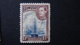 Bermuda - Hamilton Harbour - 1938 - Mi:BM 102b, Sn:BM 119, Yt:BM 105 O - Look Scan - Geographie