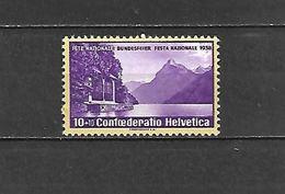 1938 - N. 311** - N. 312** (CATALOGO UNIFICATO) - Svizzera