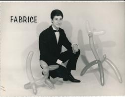 FABRICE - Jan Nadd, Illusionniste ,-Artiste, Magie, Spectacle - Photo  18 X 24 Cm - Altri
