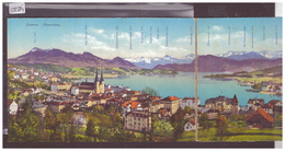 LUZERN - CARTE TRIPLE - PANORAMA - TB - LU Lucerne