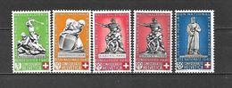 1940 - N. 349/53** (CATALOGO UNIFICATO) - Switzerland