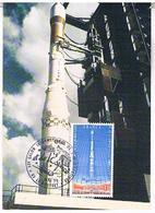 AVIONS   LANCEUR EUROPEEN  DE SATELLITES  ARIANE   CPM TBE   AV293 - Raumfahrt