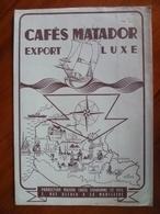 Protège Cahier  CAFÉS MATADOR A La Madeleine Nord - Buvards, Protège-cahiers Illustrés