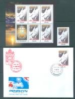 PENRHYN - 2005 - MNH/** + FDC - JEAN PAUL II POPE JOHN PAUL II - Yv 453 + MINISHEET + FDC - Lot 18860 - Penrhyn