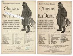 17 Partitions Anciennes, Chansons Ou Humour. Chanson Berrichonne+ Chansons De Paul DELMET+Phi-Phi Etc Toutes Scannées - Partitions Musicales Anciennes