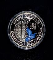 Belgium - 2008 - Blue Bird By Maurice Maeterlink - 10 EUR Fine Silver Proof Coin - 1993-...: Albert II