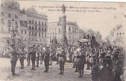 GUERRE  14/ 18 ,,,,  LA DELIVRANCE  De  LILLE,,,,MUSIQUE  ANGLAISE  JOUANT Sur La  GRAND  PLACE,,,,VOYAGE  1919,,,BE,,,, - Guerre 1914-18