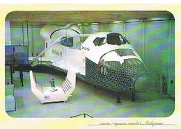 AVIONS   EURO  SPACE  CENTR  BELGIUM   CPM TBE   AV295 - Espace