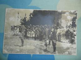 Foto   MILITARI  ZARA 5 GIUGNO 1921 Come Da Immagine  ( Con Timbro Fotografia Naturalissima, Al Retro) - Guerra, Militari