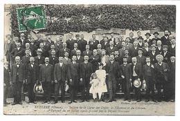 RETERRE - Section De La Ligue Des Droits De L'Homme Et Du Citoyen - Banquet Du 26 Juillet 1908 - Francia