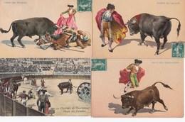 CORRIDA: Lot  De 20 Cartes Postales Et Un Carnet De 10 Vues - Corrida