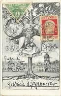 Pays Div -ref P253- Italie - Italia - Italy -illustrateurs -illustrateur -associazione Samaritana Croce Bianca -fiume - - Italy