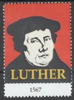 Martin Luther - Reformed Church Protestant Reformation Label Vignette Cinderella DEBRECEN Synod 2017 - MNH - Christentum