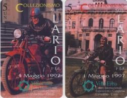 *ITALIA: GLOBAL ONE - COLLEZIONISMO SUL LARIO* - Coppia Di Schede NUOVE (MINT) - Italia
