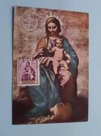 ALONSO CANO - La Virgen Con El Nino : Stamp 24 Mar 69 Madrid ( Voir / Zie - Photo / Foto ) ! - Cartes Maximum