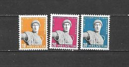 1944 - N. 392/94** (CATALOGO UNIFICATO) - Switzerland