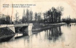 Courtrai - Quai De La Digue Et Grande Lys - Kortrijk