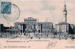 Turquie - Constantinople -  Place Séraskiérat , Stamboul - Voir Oblitération - Turquie