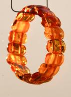 Bijoux-bracelet-25-ambre Couleur Cognac - Bracelets