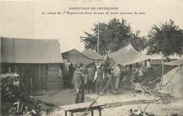 SAUVETAGE DE CUVERGNON LE COLONEL DU 1er REGIMENT DE GENIE EN TENUE DE TRAVAIL REMONTANT DU PUITS - Frankreich