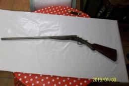 RARE FUSIL A  PERCUSSION  USA Ne Fonctionne Pas - Decorative Weapons