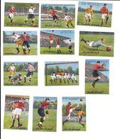 AZ09 - SERIE COMPLETE VIGNETTES LINDT ET SPRUNGLI - LE FOOTBALL - Soccer
