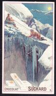 CHROMO Chocolat SUCHARD  L' Alpinisme  Montagnes Mountaineering  Serie 124 - Suchard