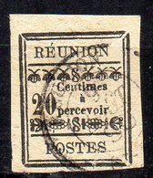 Col11    Reunion Taxe  N° 4 Oblitéré  Cote  45,00 Euros - Réunion (1852-1975)