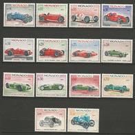 MONACO N) 708 à 721 NEUF** LUXE SANS CHARNIERE  / MNH / Cote 24€ - Collections, Lots & Séries