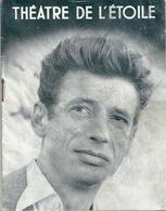 THEATRE DE L'ETOILE Yves Montand Ca 1950 - Programmes
