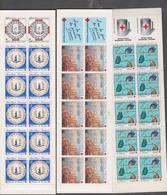 FRANCE 13 Carnets CROIX-ROUGE 1990 à 2002 Neufs Xx - N°YT C2039 à C2051 - Croix Rouge