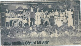Publicité SHOW ANTILLAIS Gérard La Viny - Programmes