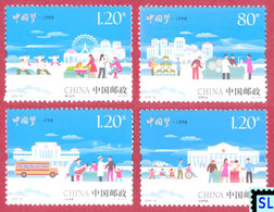 China Stamps 2015, Chinese Dream, People's Happiness, MNH - China