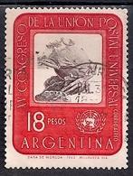 Argentina 1964 -  Airmail - The 15th U.P.U. Congress, Vienna - Argentina