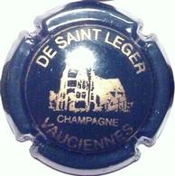 De Saint Léger N°2, Vert Foncé & Or - Champagne